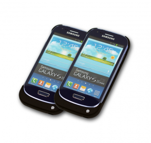 Чехол зарядка Samsung Galaxy S3 mini- black