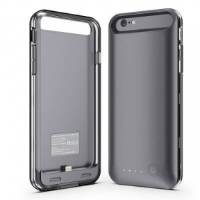 Чехол зарядка для iPhone 6 Plus/6S Plus iFans 4000 mah space grey