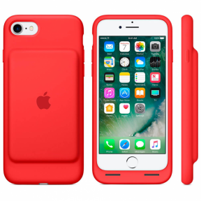 Apple Smart Battery Case (PRODUCT) Red чехол зарядка для iPhone 7/8