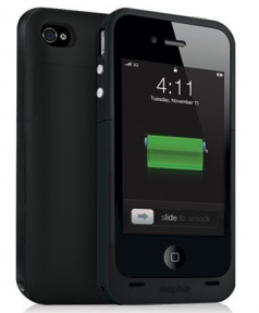 Чехол для iPhone 4/4S Mophie Juice Pack Plus black