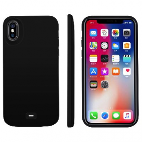 Чехол зарядка для iPhone 10/XS Battery Case 5000 mah Black
