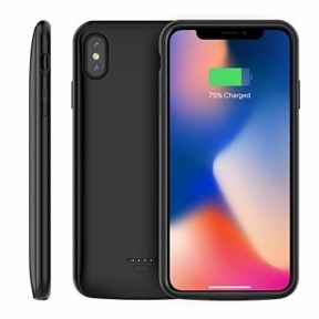 Чехол батарея для iPhone Xs Max black