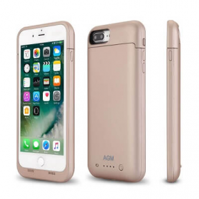Батарея чехол для iPhone 7 Plus Charge Case 5.5 -7000 mah gold