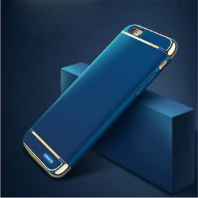 Чехол зарядка для iPhone 7 2500 mah Joyroom Battery case blue