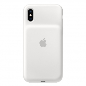 Чехол-аккумулятор Apple Smart Battery Case White для iPhone XS