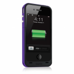 Чехол зарядка для iPhone 4/4S Mophie Juice Pack Plus purple